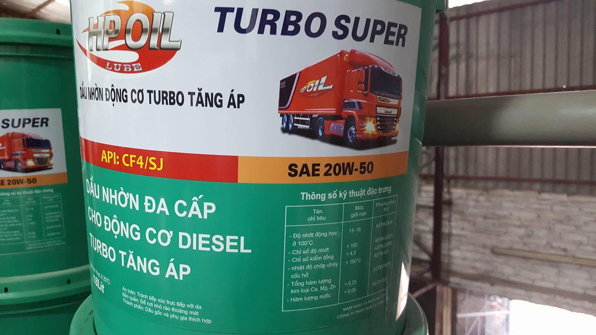 Dầu nhờn động cơ Turbo CF4